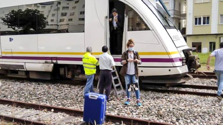 jabalí accidente tren