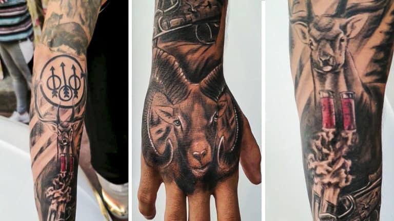 tatuaje caza