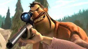 5 personajes de dibujos animados que hacen que los niños odien a los cazadores
