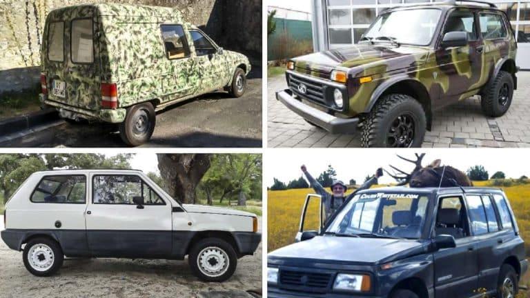 coches antiguos caza indestructibles