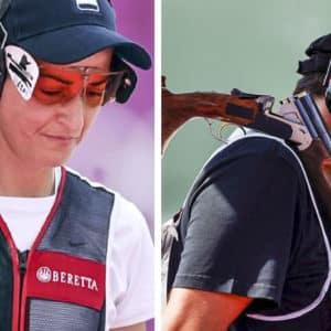 Fátima Gálvez y Alberto Fernández no logran pasar a la final de trap
