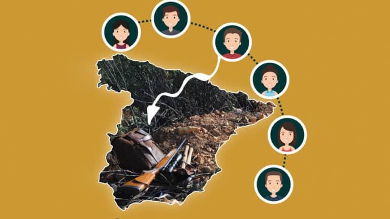 Portada de 'Opiniones y actitudes de la sociedad española ante la caza'