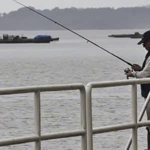Se lía a puñetazos con un pescador en Pontevedra que le recriminó haberle pisado la caña