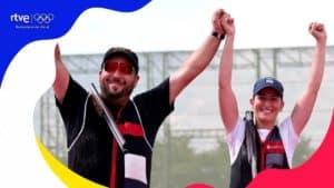 Este es el emocionante vídeo del momento en el que España gana el oro en Tiro Olímpico en Tokio 2020