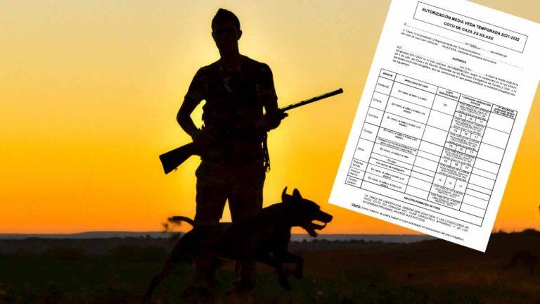 Un cazador en media veda. © JDG