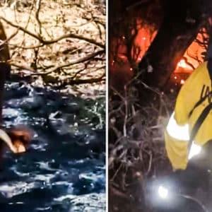 Un ganadero explota tras incendiarse su finca: «Los ecologistas de despacho no permitían limpiar esos cerros»