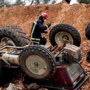 Semana negra para el mundo rural: mueren tres agricultores en accidentes de tractor