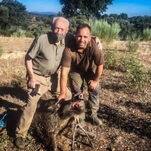 Casimiro Gómez, el cazador de 93 años que aún sigue saliendo a la paloma y al jabalí