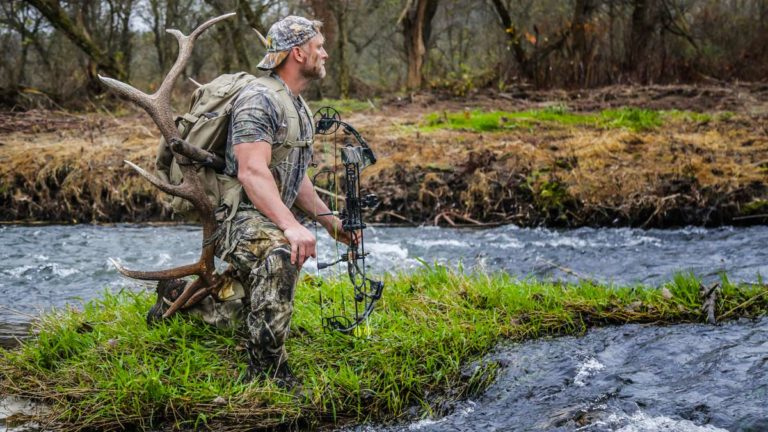 Un cazador de ciervo en EEUU. © Shutterstock