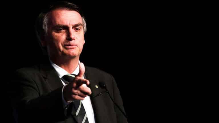 Bolsonaro, presidente de Brasil. © Marcelo Chello / Shutterstock.com
