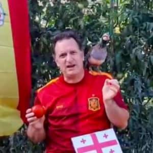 Fútbol: La perdiz 'Tako' predice el resultado del España contra Georgia que se juega hoy