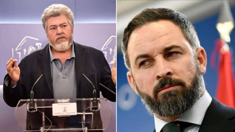 López de Uralde (Unidas Podemos) y Santiago Abascal (Vox).