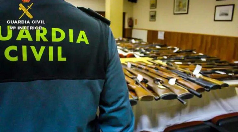 La Guardia Civil organiza una subasta de armas en noviembre en Albacete