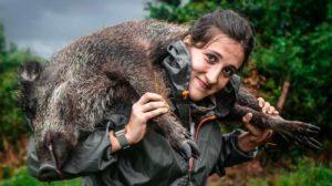 'Sentir la caza', el extraordinario corto de esta joven cazadora Asturiana