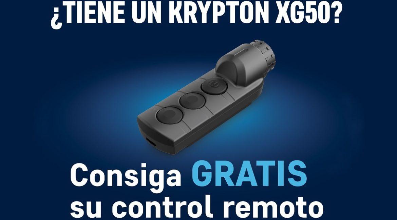 Consigue gratis un control remoto para el dispositivo de visión térmica Kripton XG50