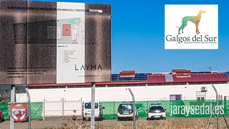 Instalaciones de Galgos del Sur investigadas por la Guardia Civil. © JyS