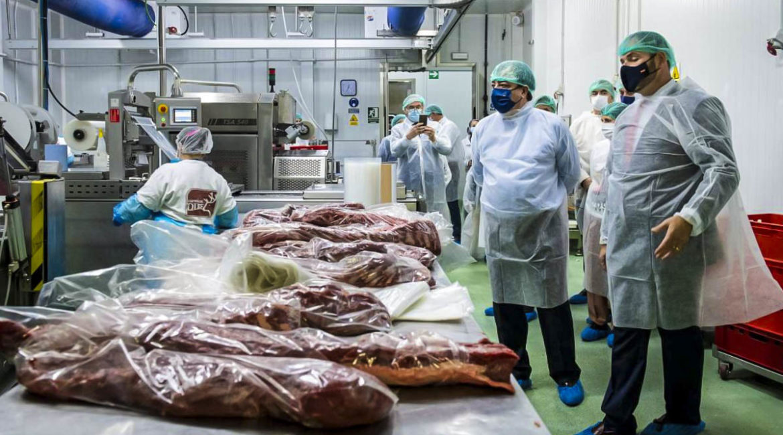 Cárnicas Dibe inaugura en Extremadura la mayor planta de procesamiento de carne de caza de España