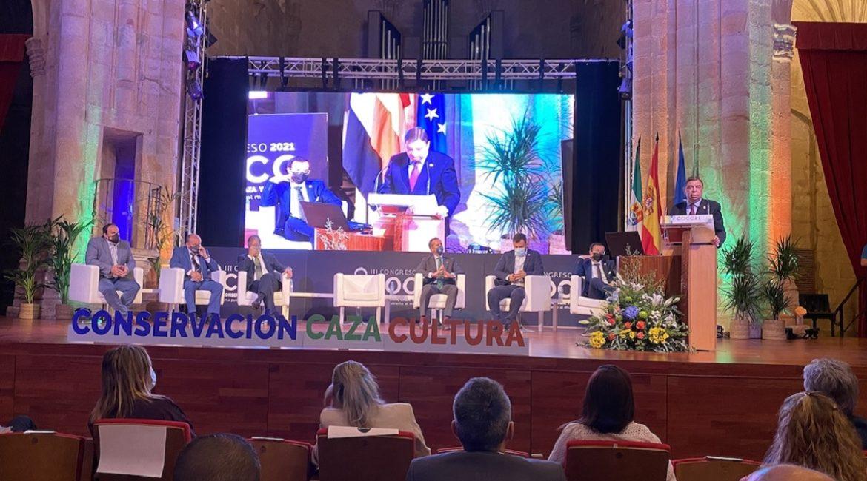 Cáceres acoge el Congreso 'Conservación, Caza y Cultura' que reivindica el mundo rural y la actividad cinegética
