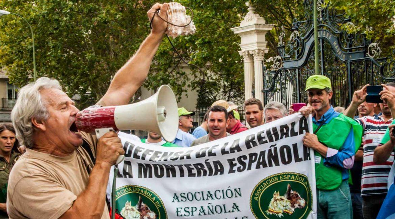 Madrid acogerá una gran manifestación de cazadores y del mundo rural el 20 de marzo de 2022