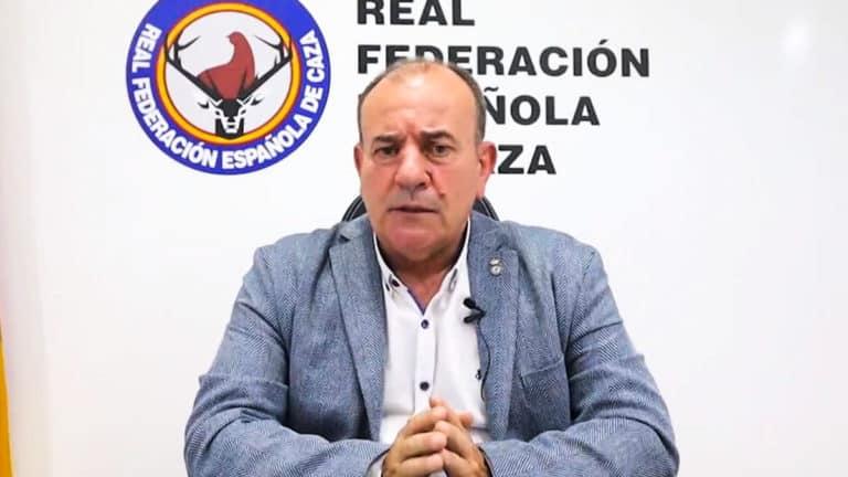 Manuel Gallardo, durante el vídeo. © Twitter
