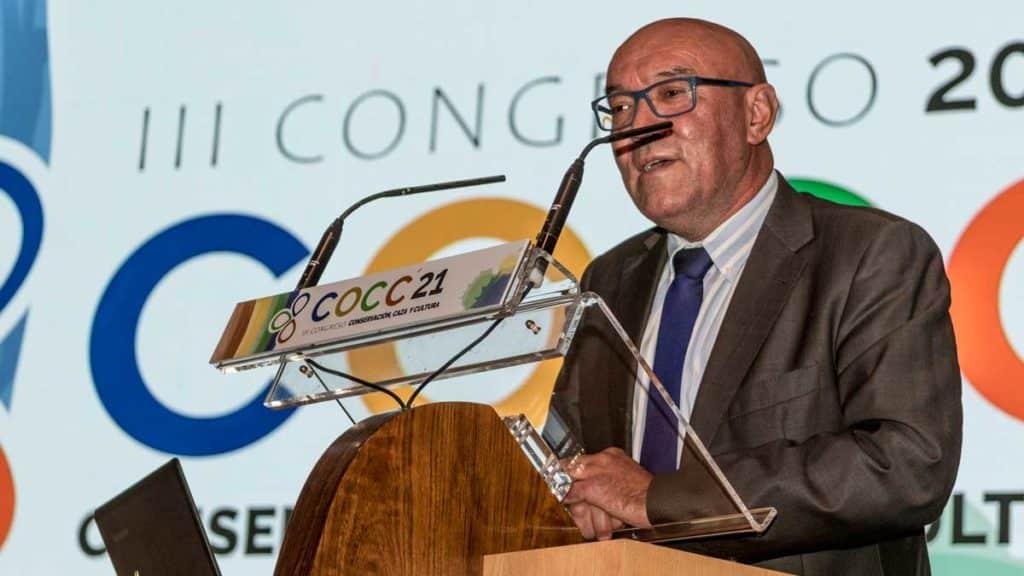 Mora Aliseda, durante su intervención. ©Israel Hernández