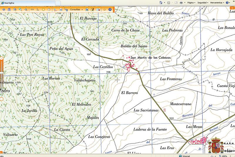 SIGPAC y Google Earth