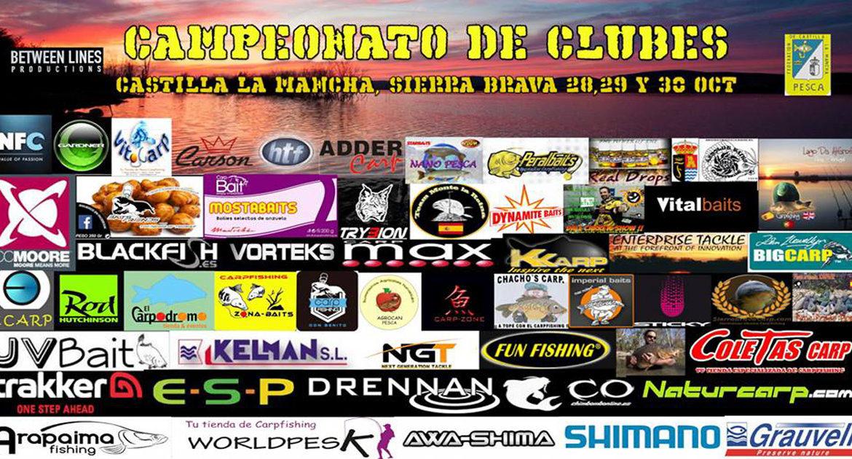 Campeonato de clubes de carpfishing de Castilla la Mancha