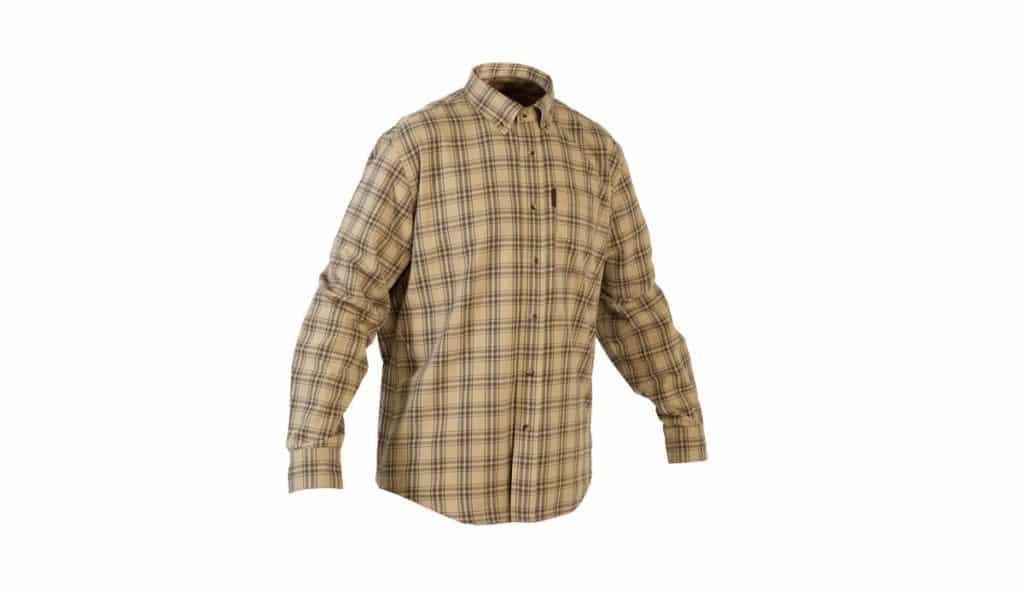Camisa de cuadros Solognac 100