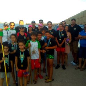 Concurso de surfcasting del 'Club El Buen Pescar'