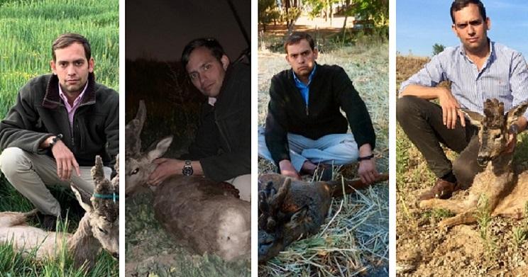 Un joven madrileño de 28 años caza su cuarto corzo peluca en Guadalajara