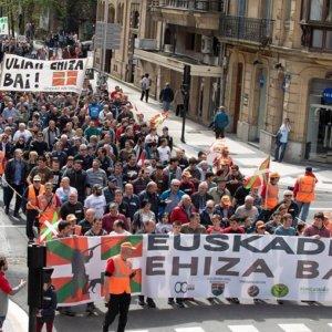 Convocada manifestación de cazadores en Guipúzcoa el 5 de mayo