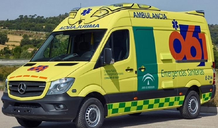 ambulancia andalucía