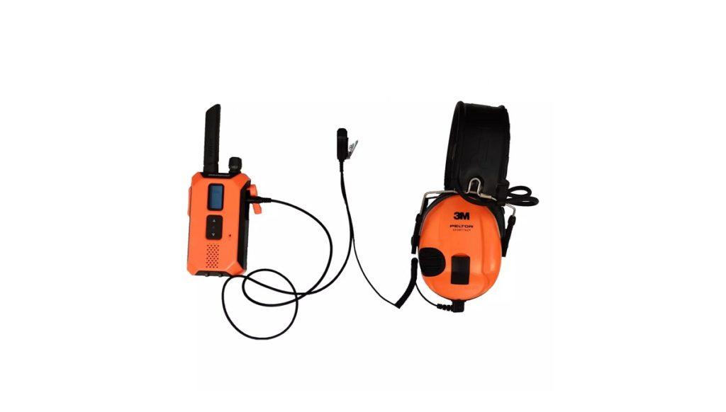 Cable de conexión para cascos Peltor y emisora Solognac 500