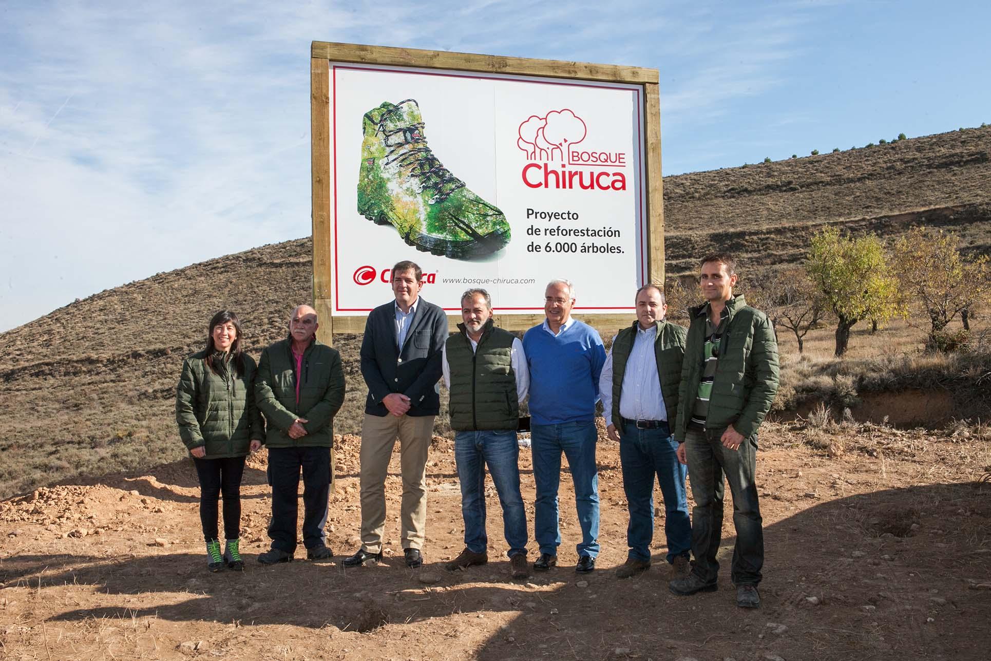 Chiruca, empresa comprometida con el medio ambiente, crea su propio bosque