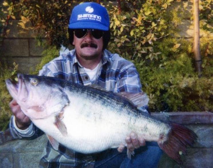 Robert Crupi escribió su nombre dos veces en el ránking de pesca / Fotografía: IGFA