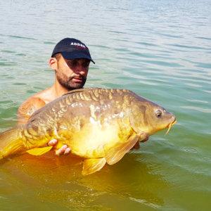 La pesca en la finca las Villalbas (Sierra Brava)