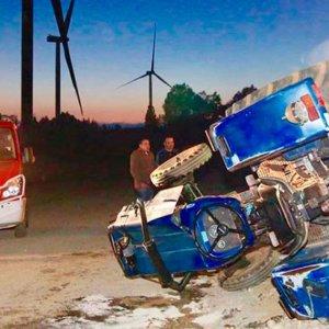 Fallece un agricultor aplastado por el tractor que conducía