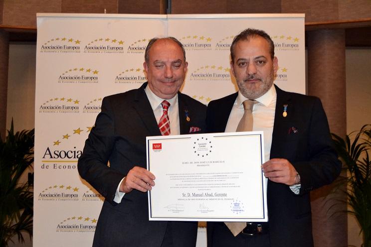 Calzados FAL recibe la Medalla de Oro al Mérito en el Trabajo