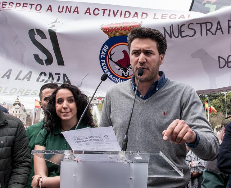 Ángel López: «Ahora el trabajo de la RFEC está en las campañas de #LaCazaTambiénVota»