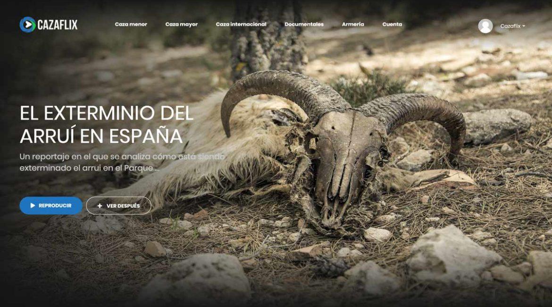 El documental sobre el exterminio del arruí en España, en Cazaflix