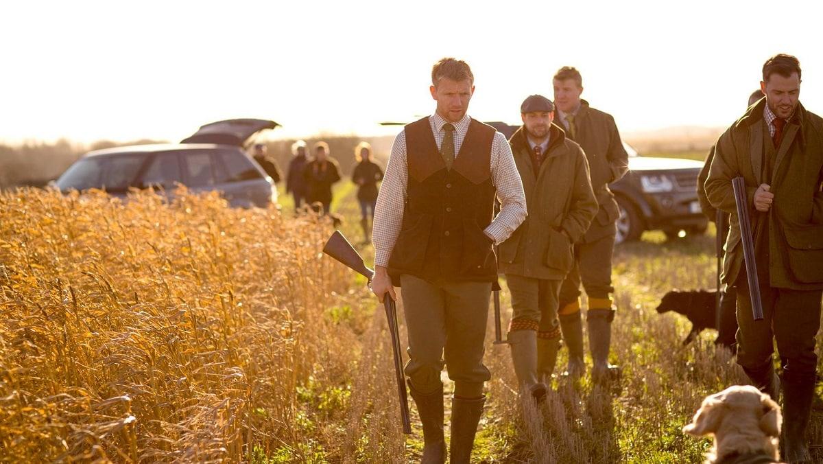 Moda inglesa de calidad para caza y campo