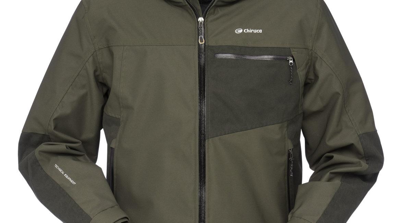 AURA CH+, la nueva chaqueta impermeable y transpirable de tercera capa de CHIRUCA