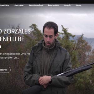 Hoy en Cazaflix: Zorzales con la Benelli Be Diamond
