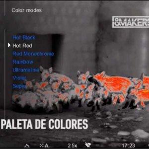 Los 8 modos de color del Accolade LRF de Pulsar