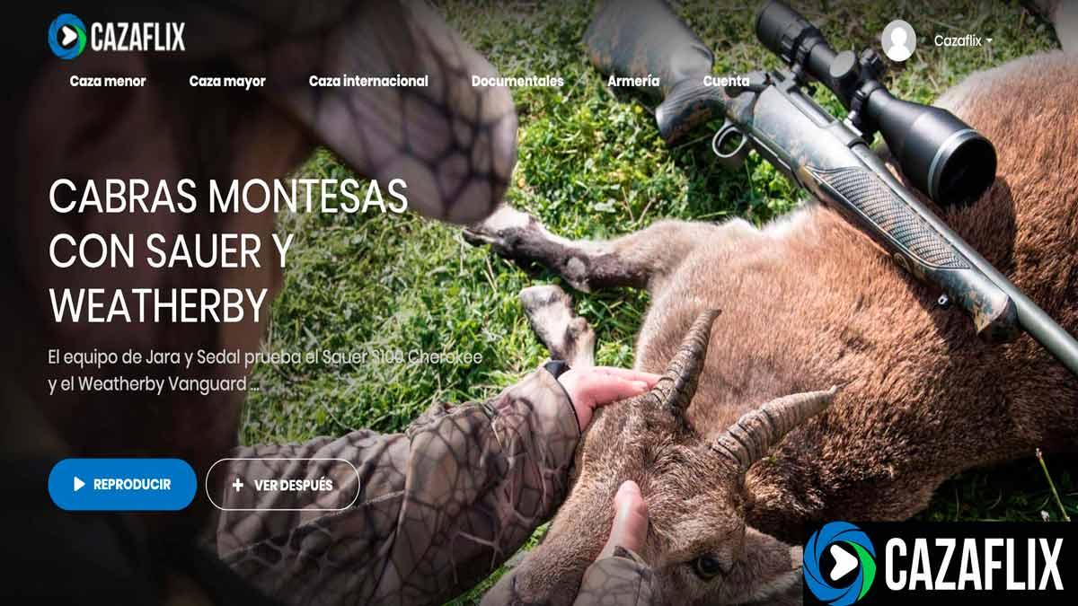 Hoy en Cazaflix: Cabras montesas con Sauer y Weatherby