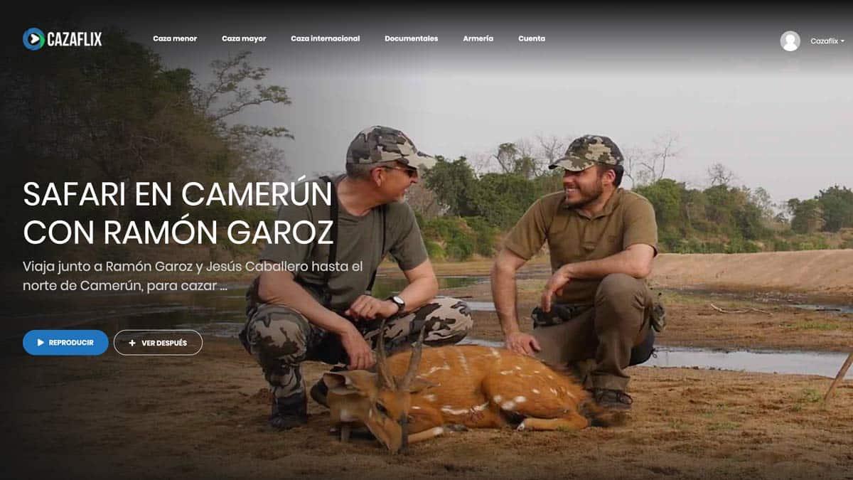 Caza internacional: nos vamos de safari a Camerún, con Ramón Garoz
