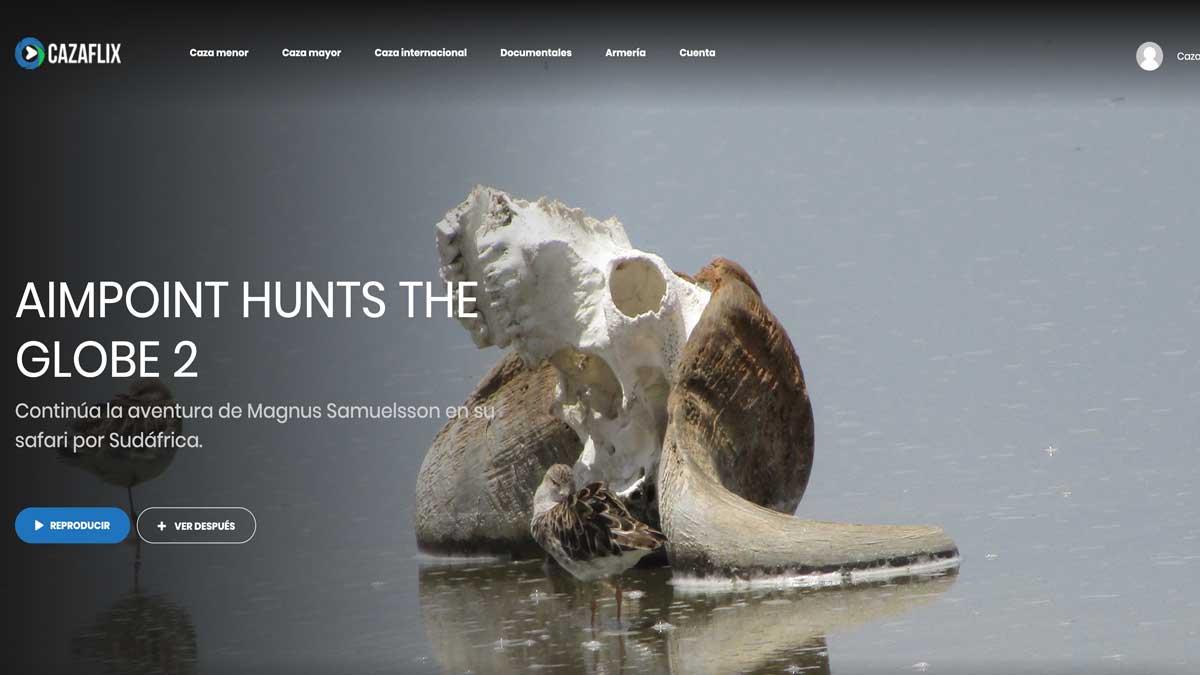 Safari de caza en Sudáfrica con Aimpoint