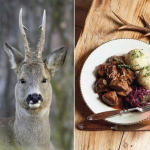Siete formas diferentes de aprovechar la carne de un corzo como un auténtico chef