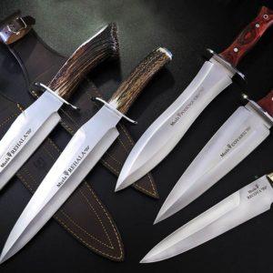 Muela lanza cinco nuevos cuchillos de caza inspirados en la montería (jabalíes, ciervos...)