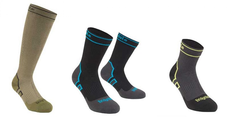 Nueva gama de calcetines 100% impermeables de Bridgedale